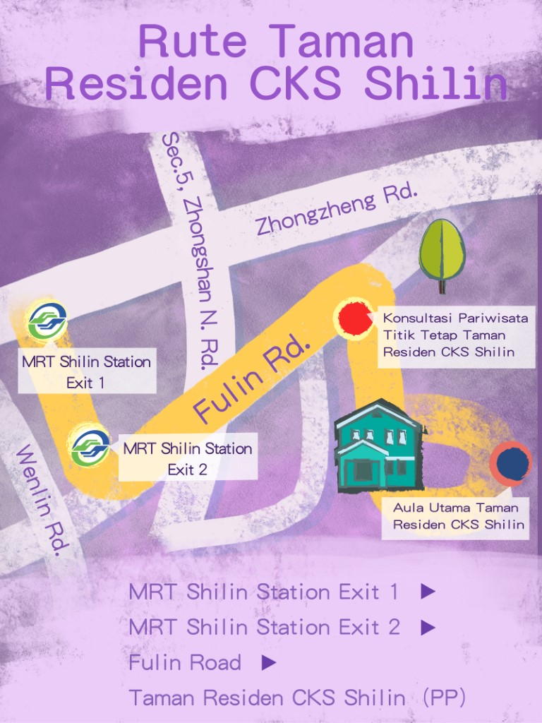 Shilin Route 1 Map |Open Window