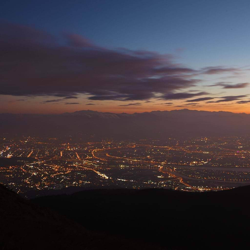 Enjoy Yangmingshan night view