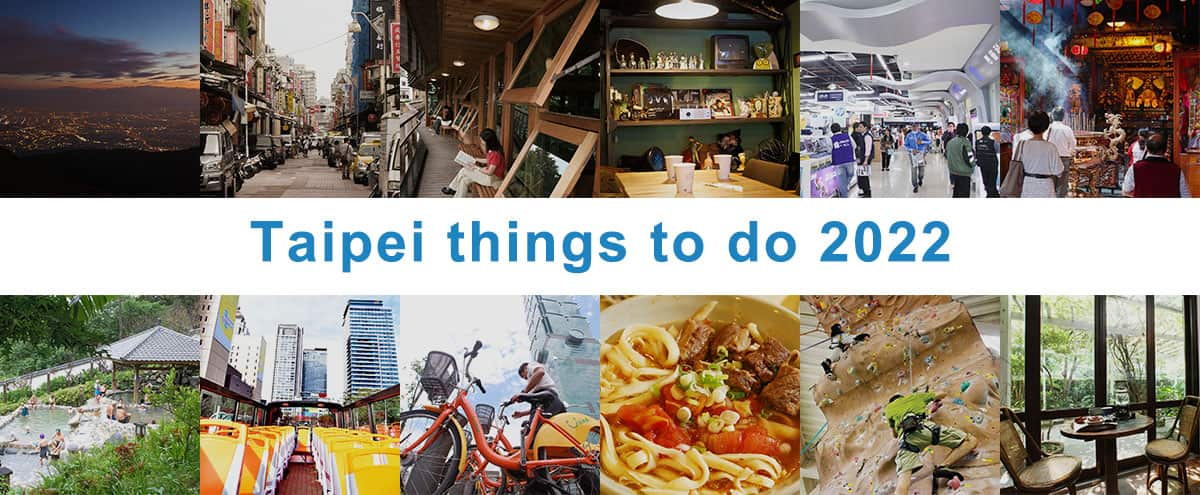 Taipei things to do 2020