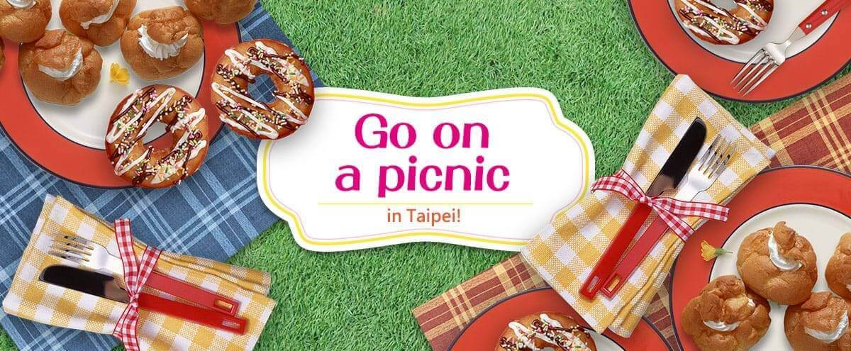Go on a picnic in Taipei!