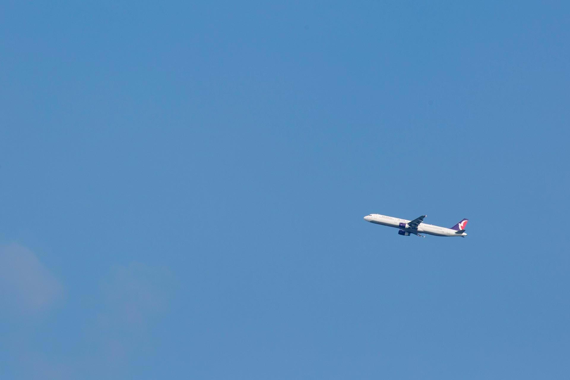 비행기, 타오위엔 국제공항