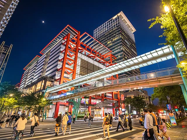 East District.Xinyi Shopping Area
