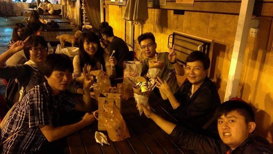 紅米美食團逛夜市