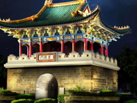 Three More Ancient City Gates to Undergo Nighttime Illumination Project