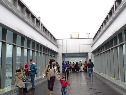Taipei Songshan Airport Observation Deck