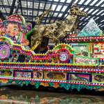 Taipei Lantern Fest: Parade Lantern Combines Temple Elements and Graffiti Culture