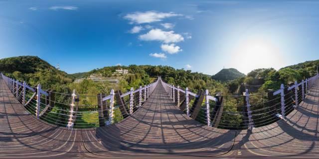 Puente colgante Baishihu